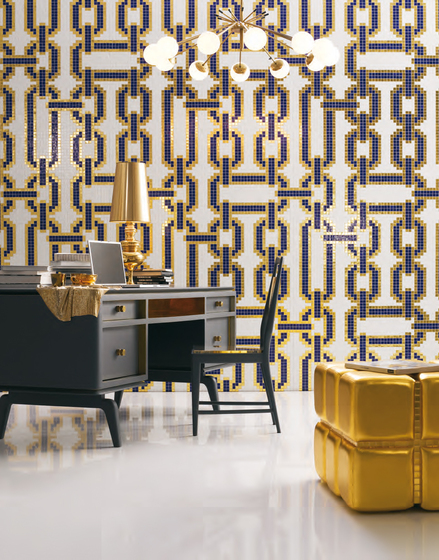 Chains Brown mosaic de Bisazza