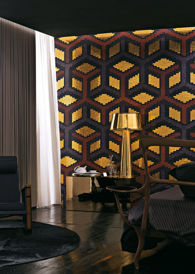 Suite Viola mosaic by Bisazza