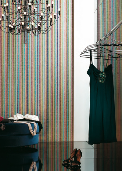 Stripes Summer mosaic by Bisazza