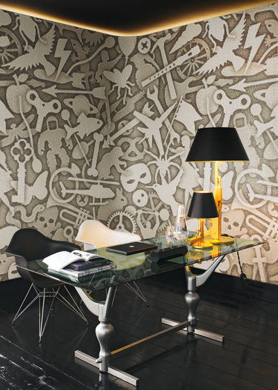 Silhouette A mosaic by Bisazza