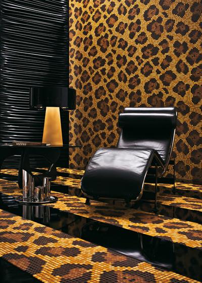 Leopard mosaic von Bisazza