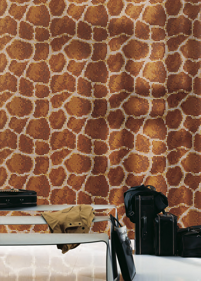 Giraffa mosaic de Bisazza