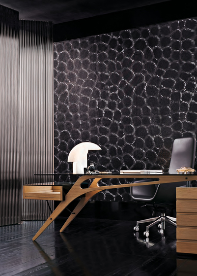 Crocodile Brown mosaic von Bisazza