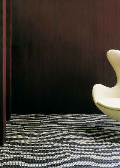 Zebra mosaic von Bisazza