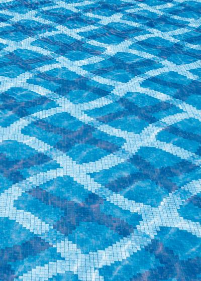 Mirage Blu mosaic von Bisazza