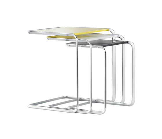 K3C Oblique-nesting table by TECTA
