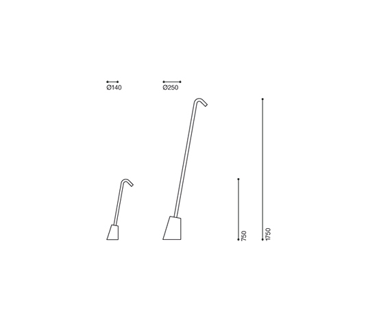 Pole Light von Established&Sons