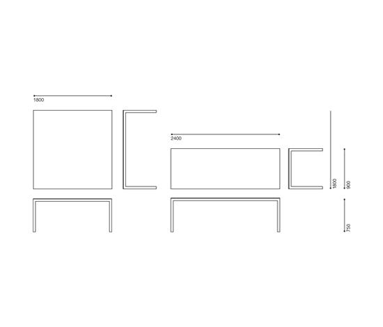 Table de Established&Sons