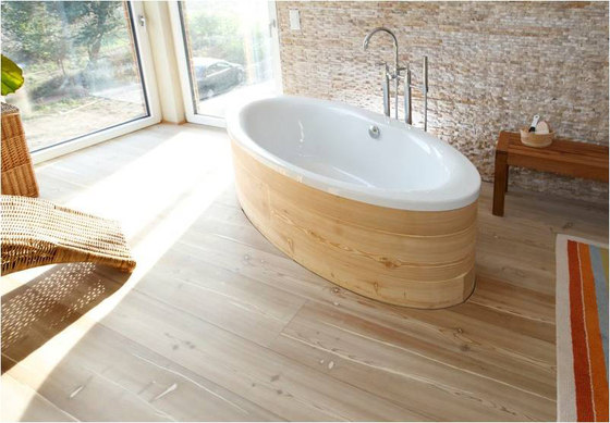 mafi LARCH Virgin wide-plank. brushed  |  lye treatment  |  white oil by mafi