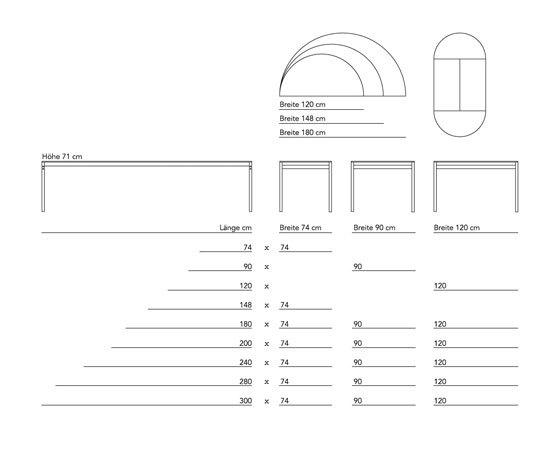 Studioklapptisch by Designarchiv
