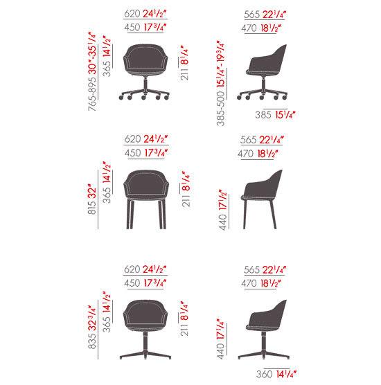 Softshell Chair de Vitra