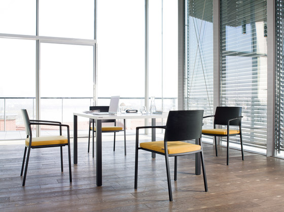 client rectangular table by Wiesner-Hager