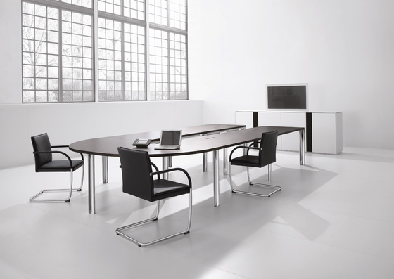 Cone conference table di Walter Knoll