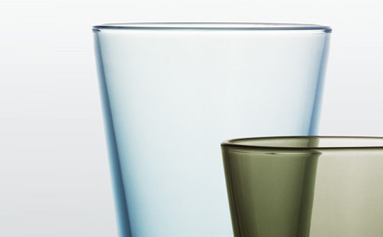 Kartio Tumbler 40cl grey by iittala