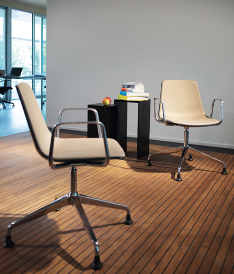 Lamina Swivel Chair by Dietiker