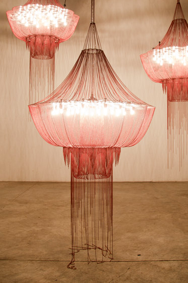 Flower of Life - 1000 - suspended di Willowlamp