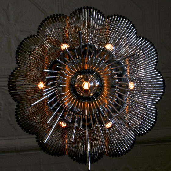 Flower of Life Chandelier Ceiling - 1000 by Willowlamp