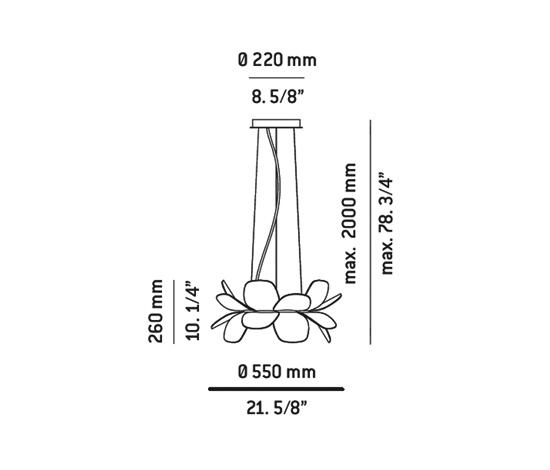 infiore P-5809 floor lamp by Estiluz