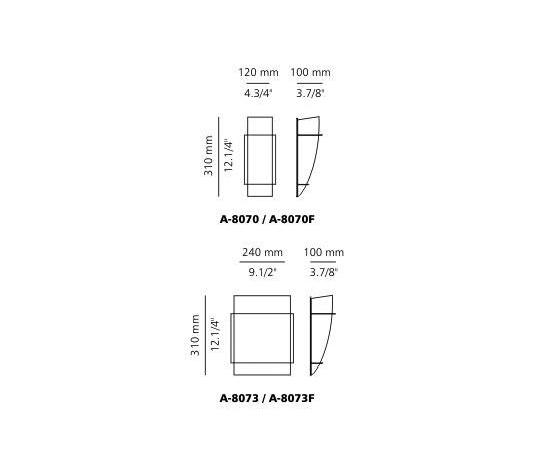 A-8081A wall sconce by Estiluz