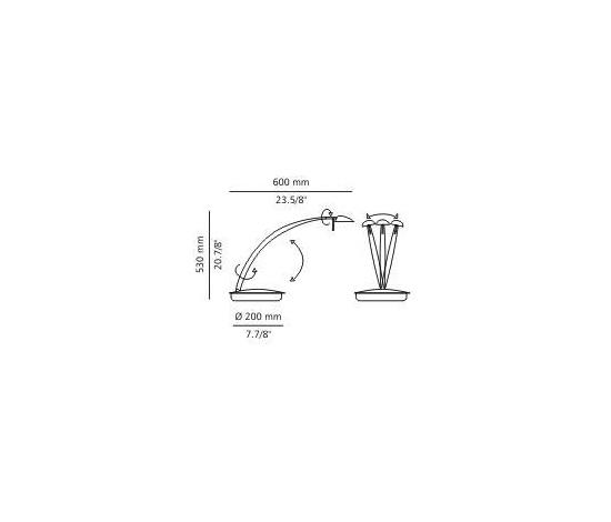 M-2029 table lamp by Estiluz