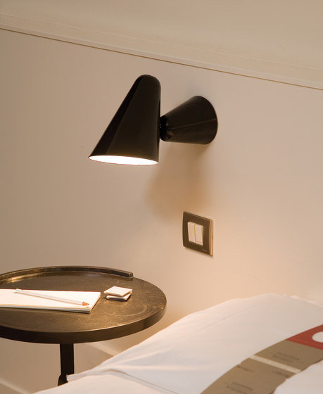 Don Camillo Wall-/Ceiling lamp di Formagenda