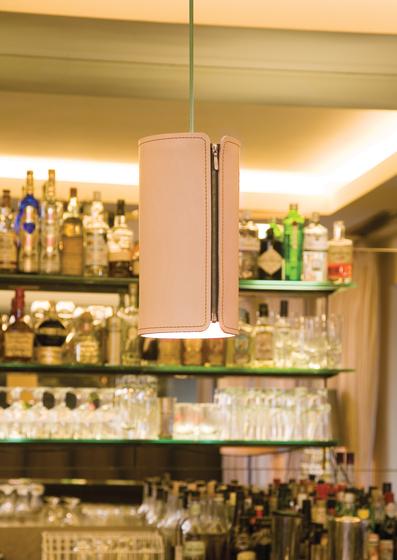 Tubo Suspension lamp by Formagenda