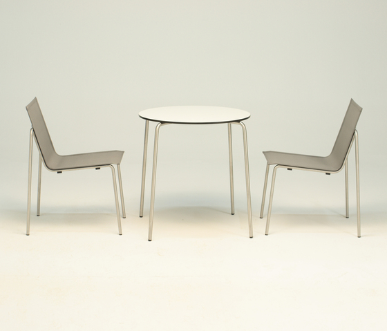 Taku bistro table by Fischer Möbel