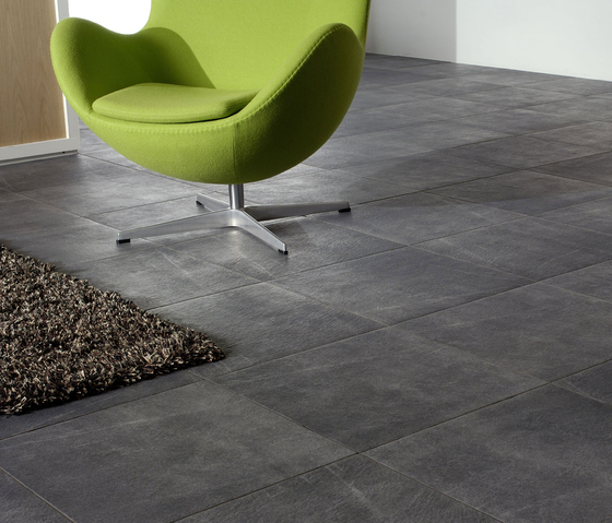 Arketipo Grafite Floor tile by Refin