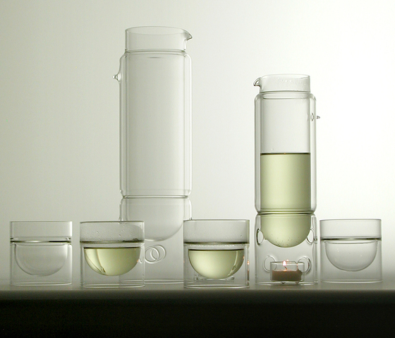 float glassware | tea lantern by molo