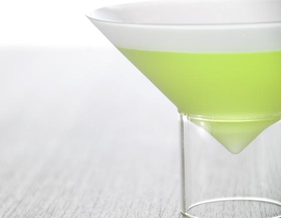 float glassware   martini glasses by molo