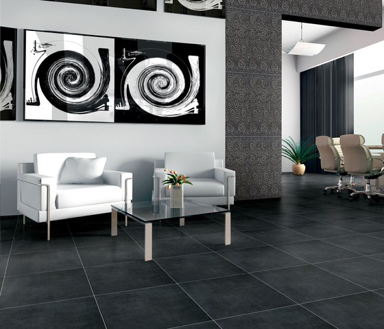 Visual Carbon Tile by Refin