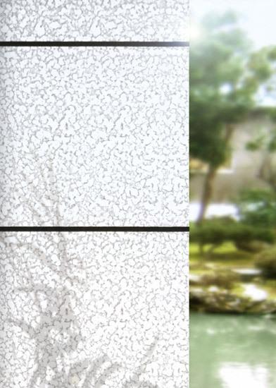 Structures raindrop de Wood & Washi