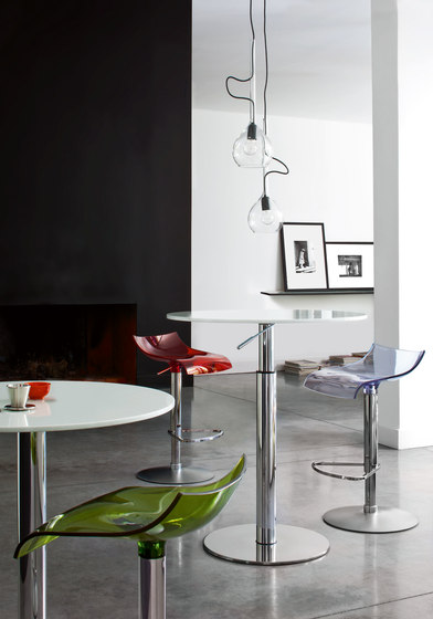Bobine | Table Top White Lacquered Glass by Ligne Roset