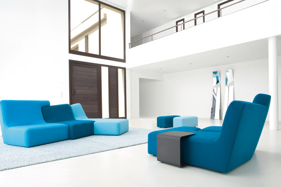 Confluences | Sofa 3 Plazas Derecho Version Multicolor de Ligne Roset