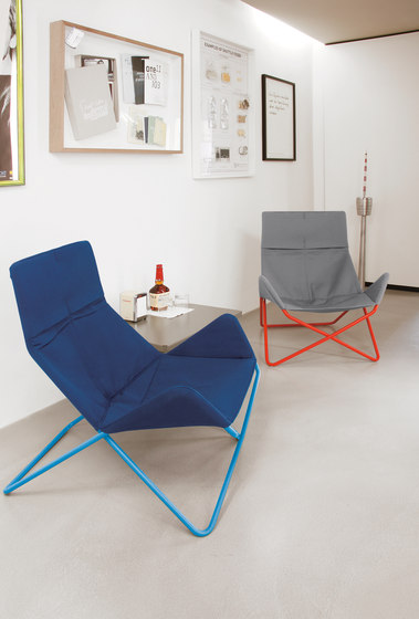 In-Out lounge chair outdoor by Lampert