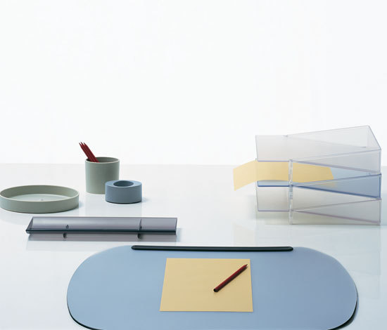Ellipse stacking desk tray by Segis