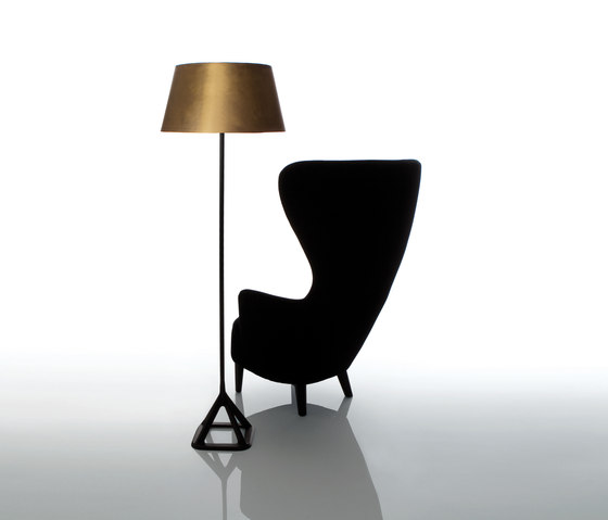 Base Floor Light Brass by Tom Dixon