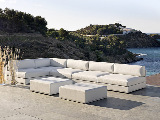 Mood Low footstool module by Bivaq