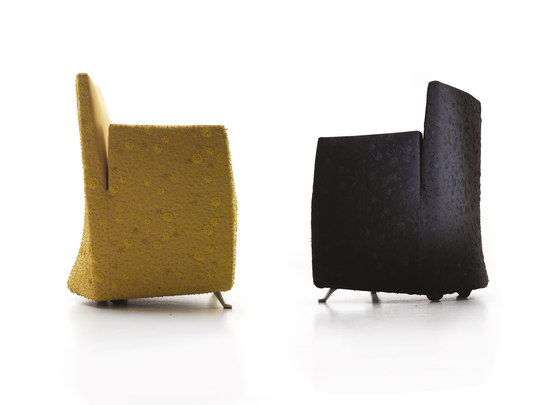 Aura armchair by Baleri Italia by Hub Design