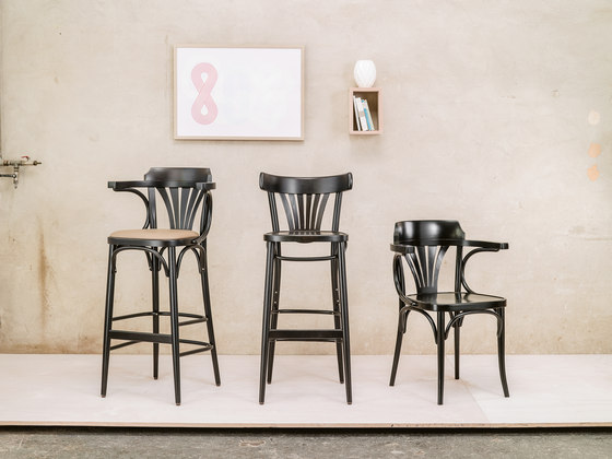 24 Chair upholstered by TON
