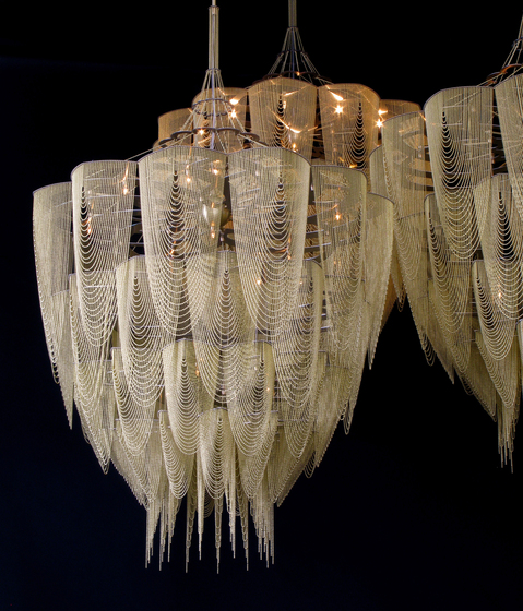 Protea - 1000 - suspended de Willowlamp