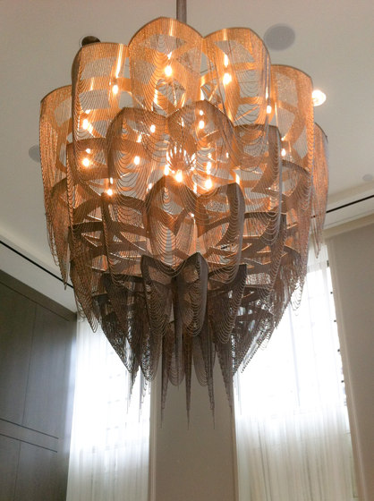 Protea - 1000 - ceiling mounted de Willowlamp