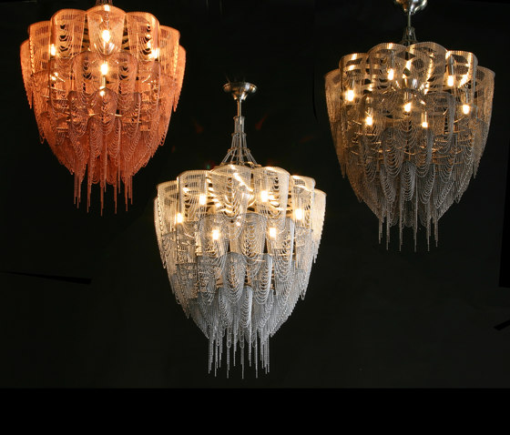 Protea - 500 - ceiling mounted by Willowlamp