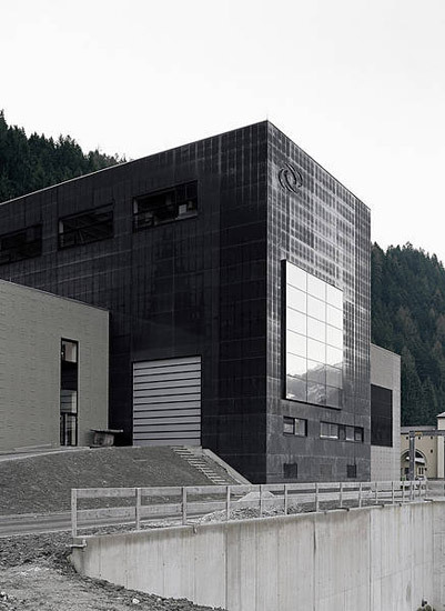Power Station Gerlos II, Zillertal by Rieder