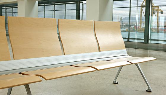 Transit bench by actiu