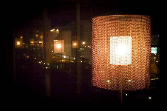 Circular Cropped 150 Standing Lamp by Willowlamp