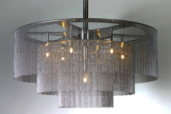 3-Tier - 1000 - ceiling mounted by Willowlamp
