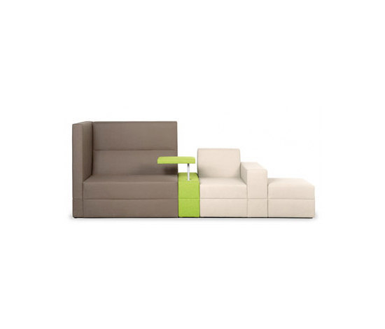 Bricks Wall Meeting Sofa by Palau