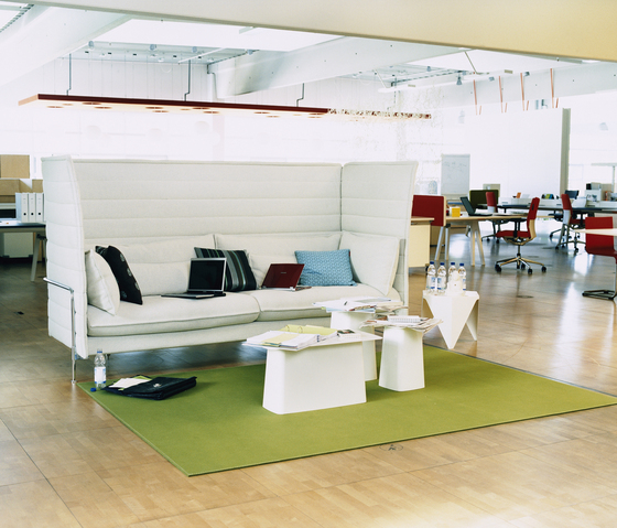 Alcove Highback Two-Seater di Vitra