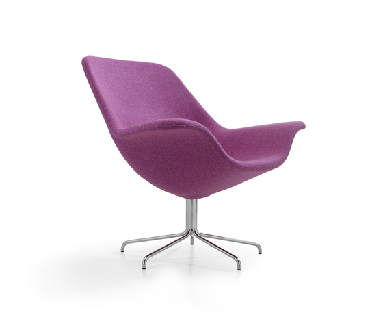 Oyster easy chair/footstool di OFFECCT